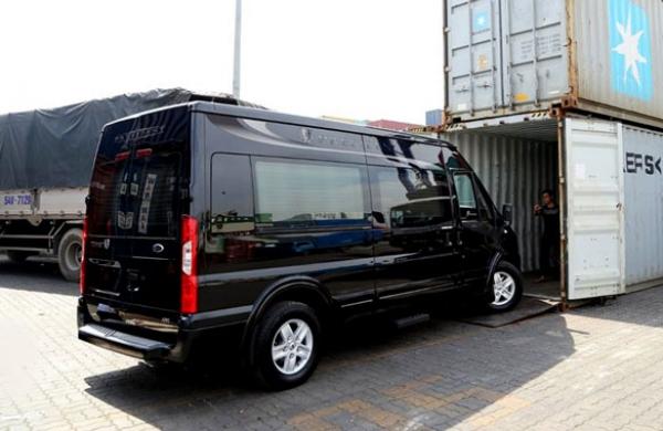 Hãng DCar xuất khẩu lô xe DCar President đầu tiên qua Philippines