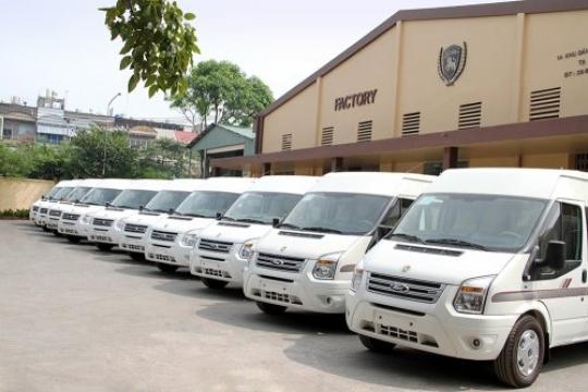 Toàn cảnh sản xuất xe DCAR LIMOUSINE tại nhà máy hãng DCAR
